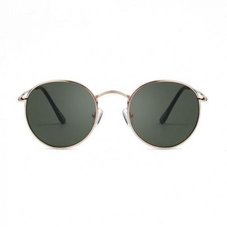 A Kjærbede Solbriller, Hello, Guld/Grøn