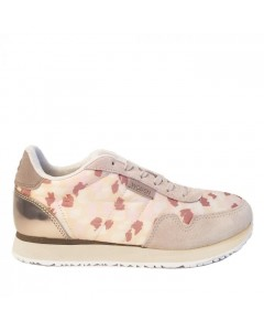 Woden Sneakers, Nora II Spot, Light Sand
