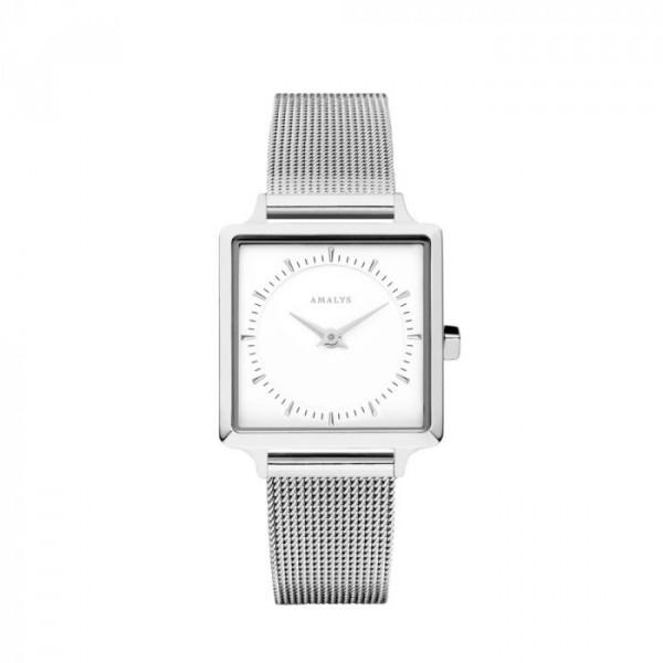 amalys – Amalys ur, claire, sølv/hvid på superlove