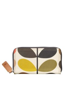 Orla Kiely, Multi Stem Big Zip Pung, Multi