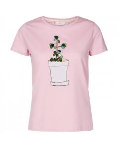 Nümph T-shirt, Superbox, Lyserød/Grøn