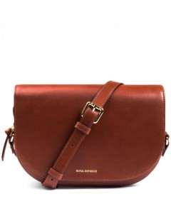 Royal Republiq Taske, Raf Curve Handbag, Cognac