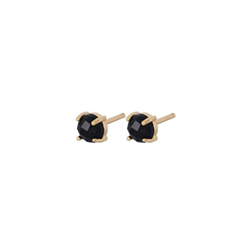 pernille corydon Pernille corydon øreringe, lava, guld/sort onyx fra superlove