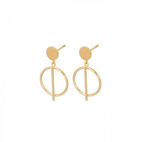 pernille corydon – Pernille corydon øreringe, horizon, guld på superlove