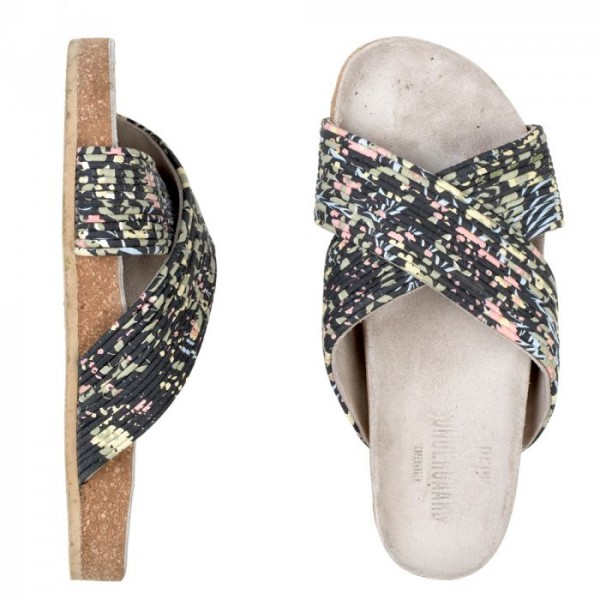 beck söndergaard – Beck söndergaard sandaler, irua, sort/multi - størrelse - 38 fra Edgy