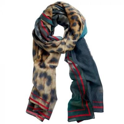 Inspired-By Tørklæde, Leopard