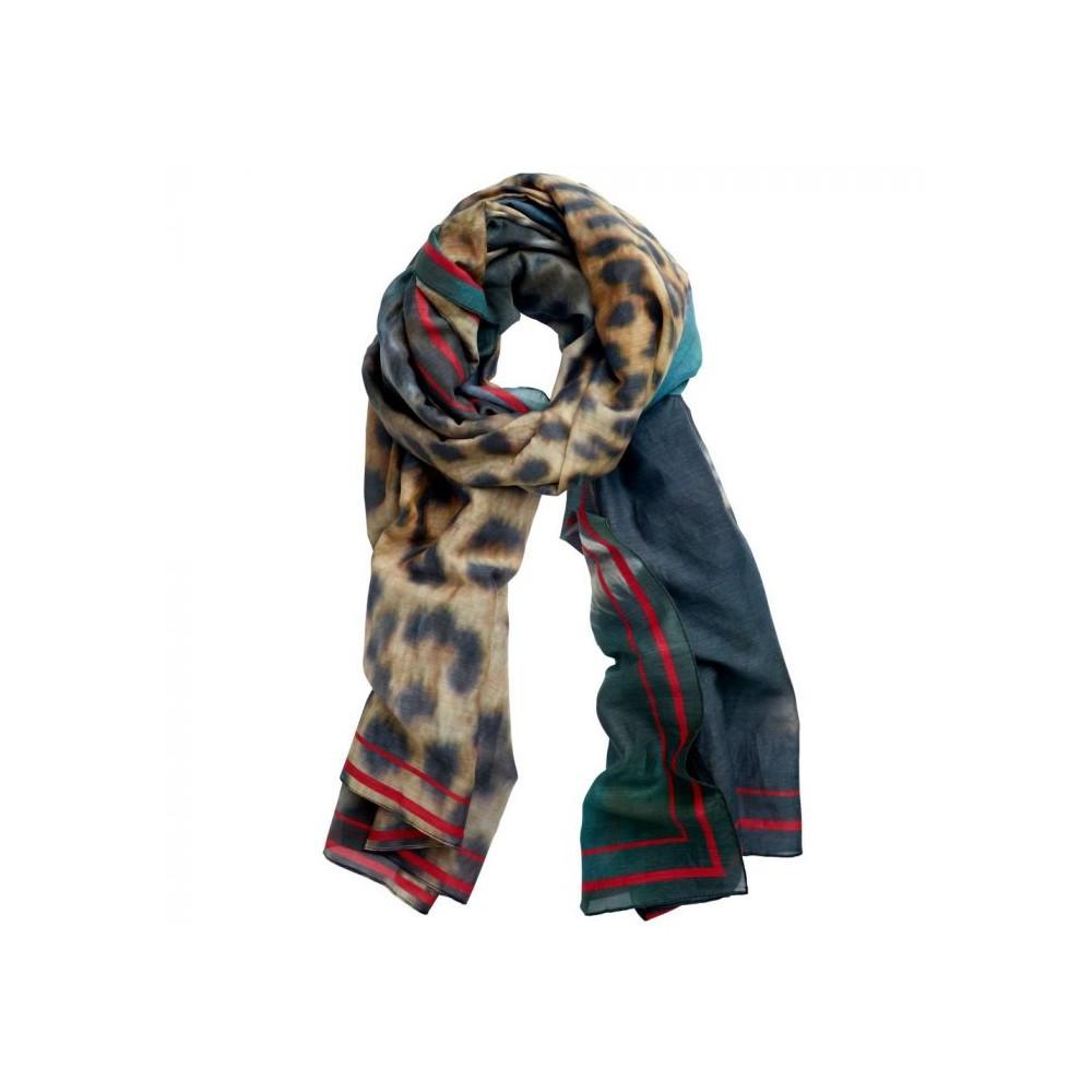 inspired by Inspired-by tørklæde, leopard på superlove