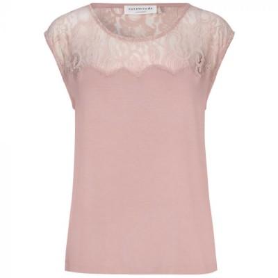 Rosemunde T-shirt m/Blonde, Misty Rose