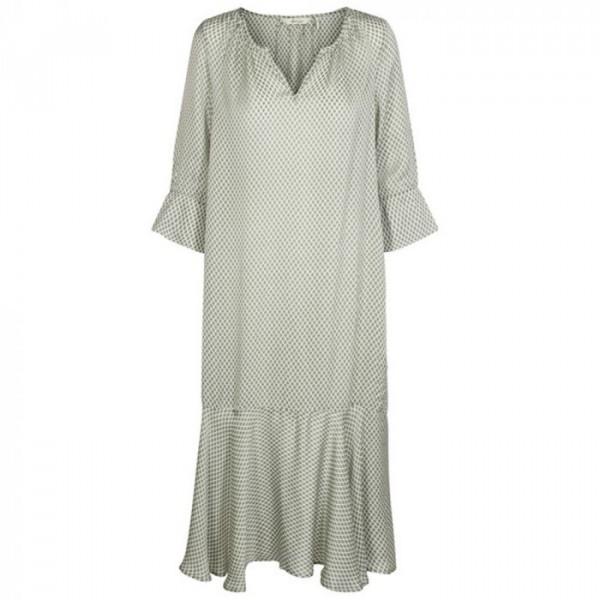 And less kjole, starwort kjole, grøn/hvid - størrelse - 36 fra and less på superlove