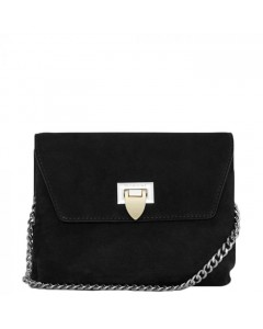 Decadent Taske, Cleva Small Pouch, Suede Black
