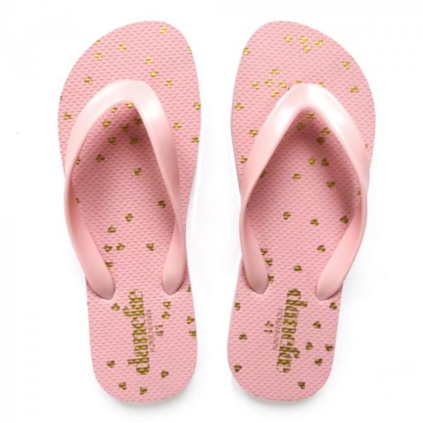 danefæ Danefæ sandaler, confetti, rosa/guld - størrelse - 39 fra superlove