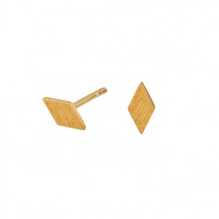 Scherning Øreringe, Diamond Tiny, Guld