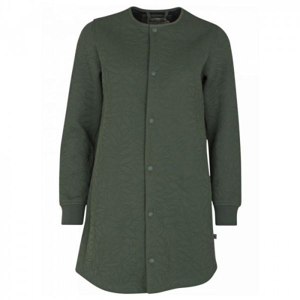 Danefæ jakke, maude thermo coat, dark khaki fra danefæ på superlove