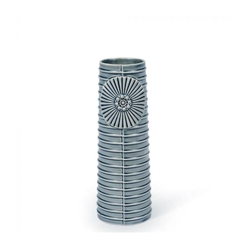 Finnsdottir vase, pipanella lines medium, grå fra finnsdottir fra superlove