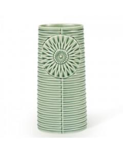 Finnsdottir Vase, Pipanella Lines Oval, Grøn