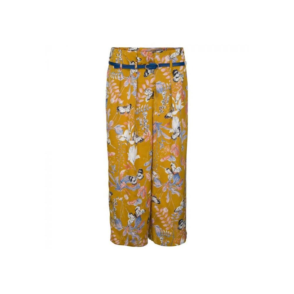Minus bukser, lisette, gul/multi - størrelse - 38 fra minus på superlove