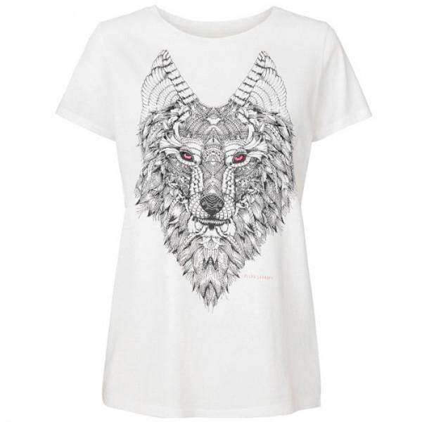 lollys laundry – Lollys laundry t-shirt, roma, hvid/sort - størrelse - s fra superlove