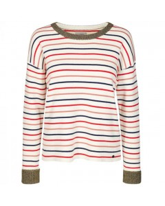 Nümph Sweater, Dania, Hvid/Multi