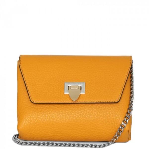 decadent – Decadent skuldertaske, cleva small pouch, gul fra superlove