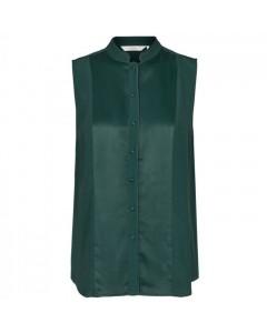 Nümph Skjorte, Dena, Mørkegrøn