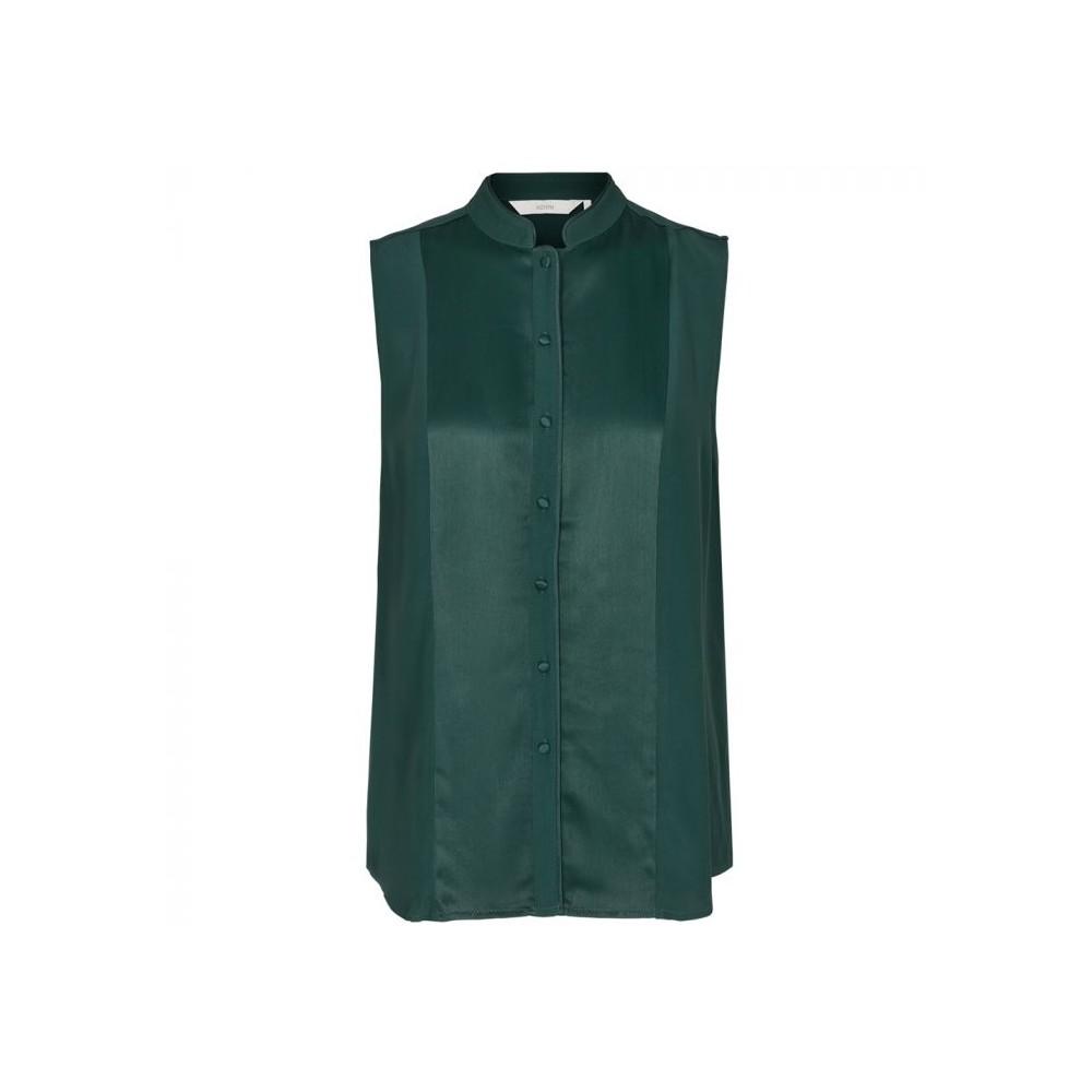 9e9751ffa nümph Nümph skjorte, dena, mørkegrøn - størrelse - 36 - Find ...