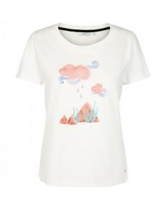 Nümph T-shirt, Devika, Hvid/Multi