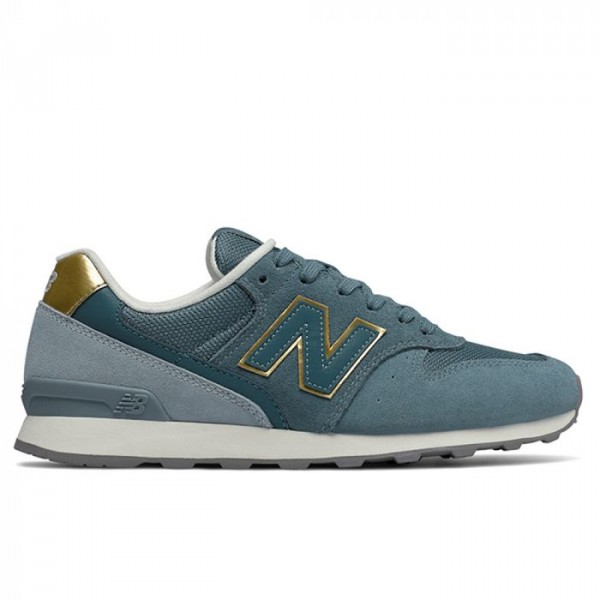 New Balance Sneakers, 996, Blå/guld - Størrelse - 39