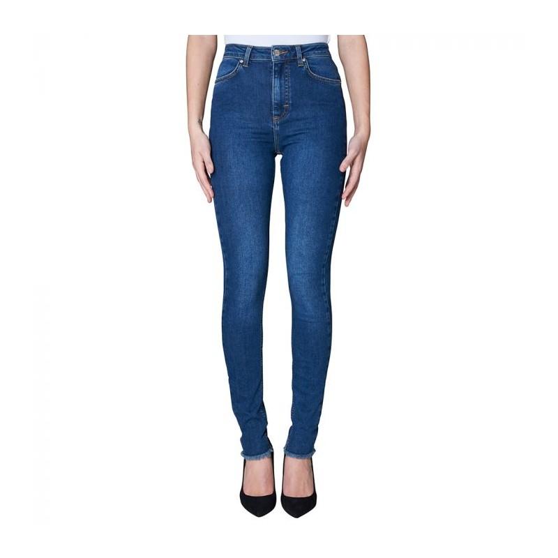 Image of   2nd ONE Jeans, Amy 893, Mørkeblå