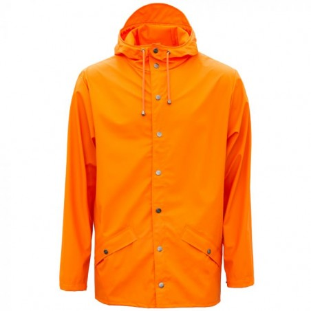 Rains Regnjakke, Kort, Fire Orange