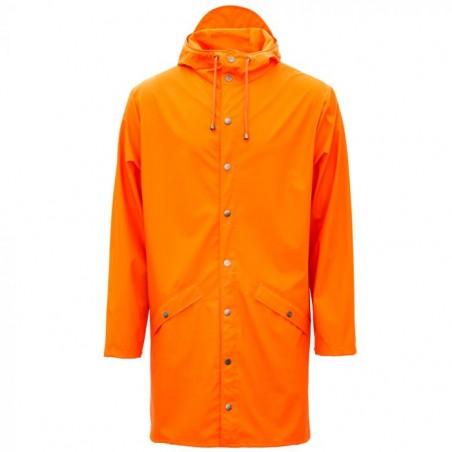 Rains Regnjakke, Lang, Fire Orange