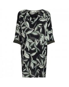 Nümph Dress, Felicia, Black/Olive Green