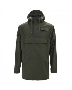 Rains Regnjakke, Camp Anorak, Green