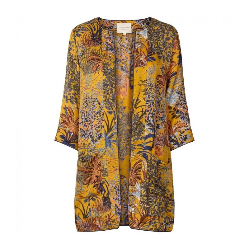 lollys laundry Lollys laundry kimono, sika, multi 70 - størrelse - xs på superlove