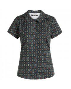 King Louie Skjorte, Tangerine Økologisk, Blå/Multi