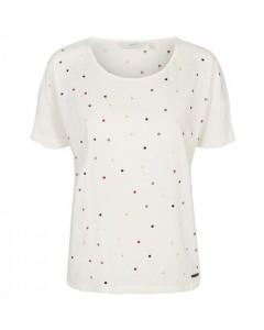 Nümph T-shirt, Hugette, Creme