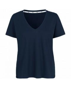 Stig P T-shirt, Asta Organic, Navy