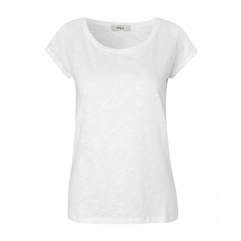 stig p Stig p t-shirt, liu organic, hvid - størrelse - s på superlove