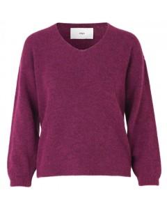 Stig P Sweater, Kamil, Fuchsia