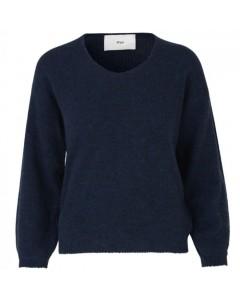 Stig P Sweater, Kamil, Mørkeblå