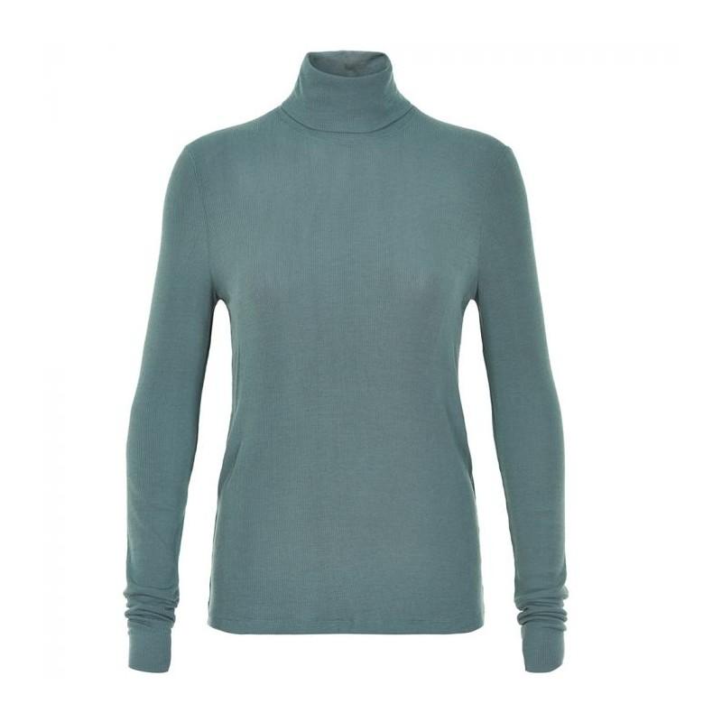 and less – And less strikbluse, daniela, blågrøn - størrelse - xl på superlove