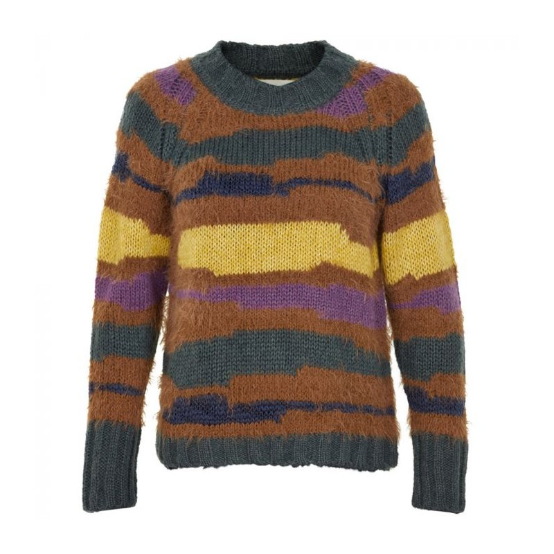 Image of   And Less Sweater, Allecra, Multi