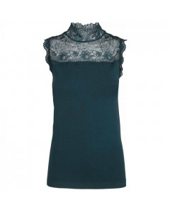 Minus Top, Vanessa High Neck, Fir Green