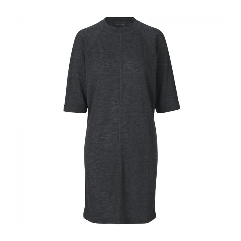 storm & marie – Storm & marie kjole, ines dr, grå - størrelse - m på superlove