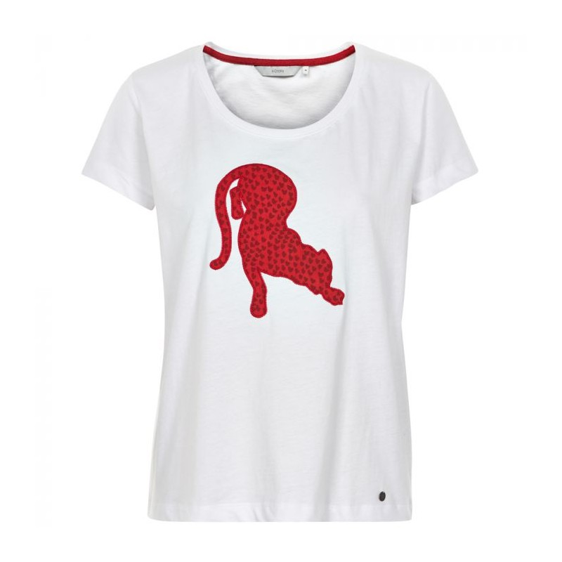 nümph Nümph t-shirt, ernelinda, hvid - størrelse - l på superlove