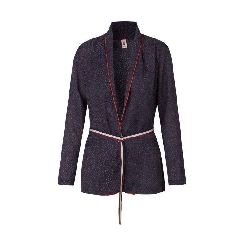beck söndergaard Beck söndergaard kimono, obasi dotti, mørkeblå/rød - størrelse - s fra superlove