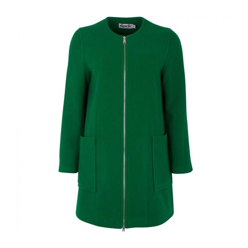 Danefæ jakke, wool darling, grøn - størrelse - m fra danefæ på superlove