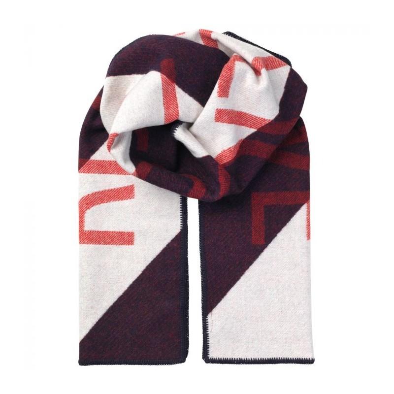 947005ad4bf beck söndergaard beck söndergaard halstørklæde, rebellious, hvid/rød /mørkeblå