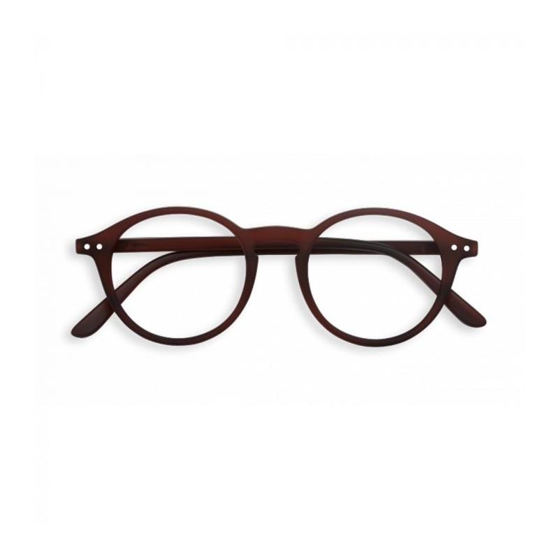 Izipizi briller, d reading, dark wood - størrelse - +3 fra izipizi fra superlove