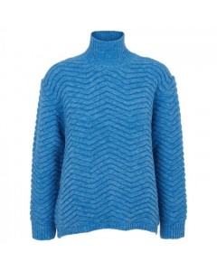 Basic Apparel Sweater, Nille, Azure Blue