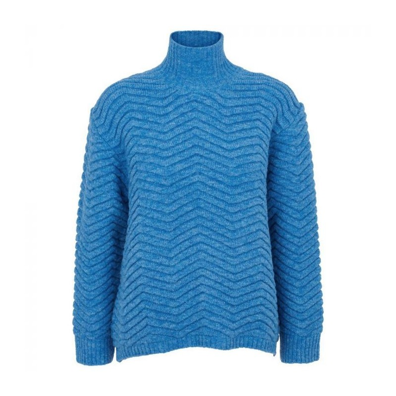 Image of   Basic Apparel Sweater, Nille, Azure Blue